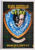 Elvis Costello - 'Spike' Postcard